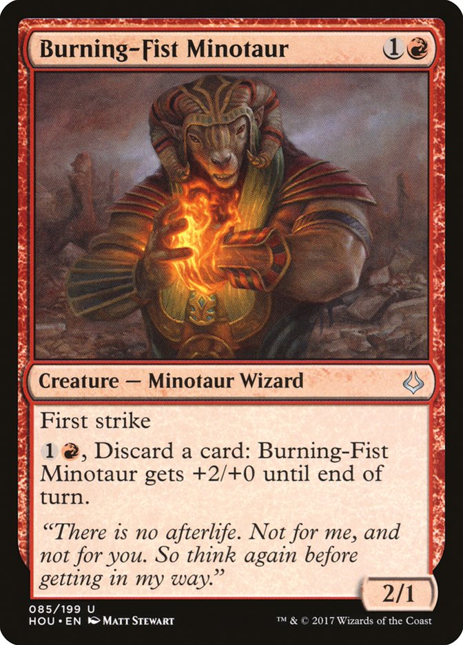 Burning-Fist Minotaur