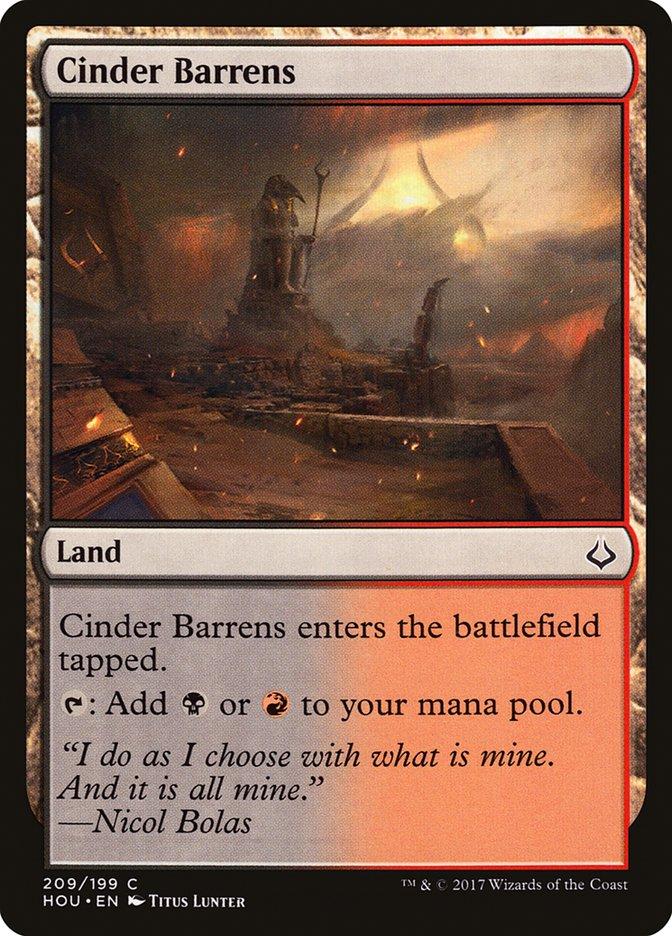 Cinder Barrens