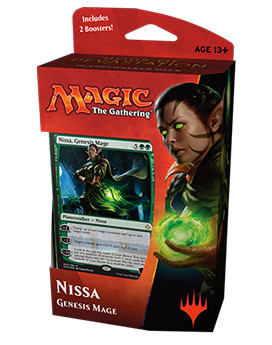 Hour of Devastation Planeswalker Deck - Nissa