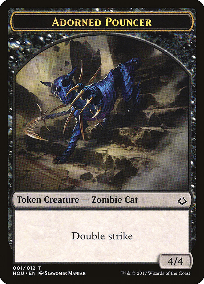 Adorned Pouncer Token