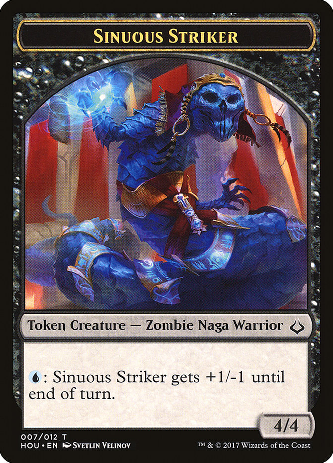 Sinuous Striker Token