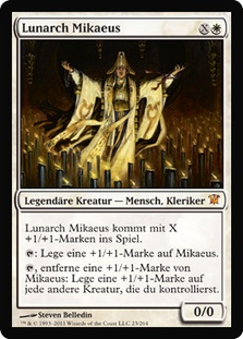 Mikaeus, the Lunarch (Innistrad)