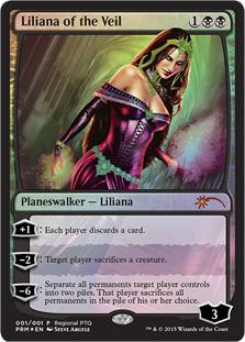 Liliana of the Veil (Regional PTQ)