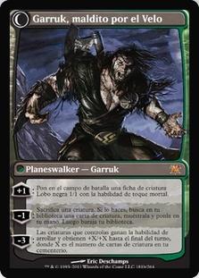 Garruk Relentless   Garruk, the Veil-Cursed (Innistrad)
