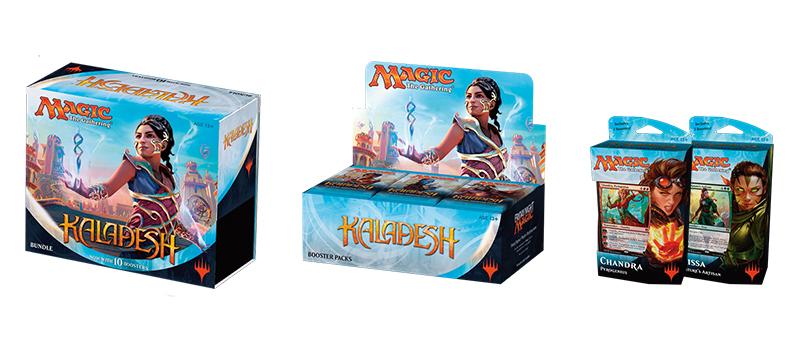 Kaladesh Combo Pack (Booster Box, Bundle, & Planeswalker Deck - Set of 2) (Pre-Order: Ships Sep 30)