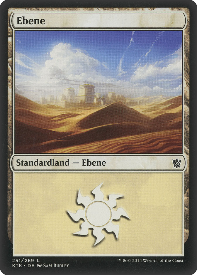 Plains (#251) (Khans of Tarkir)