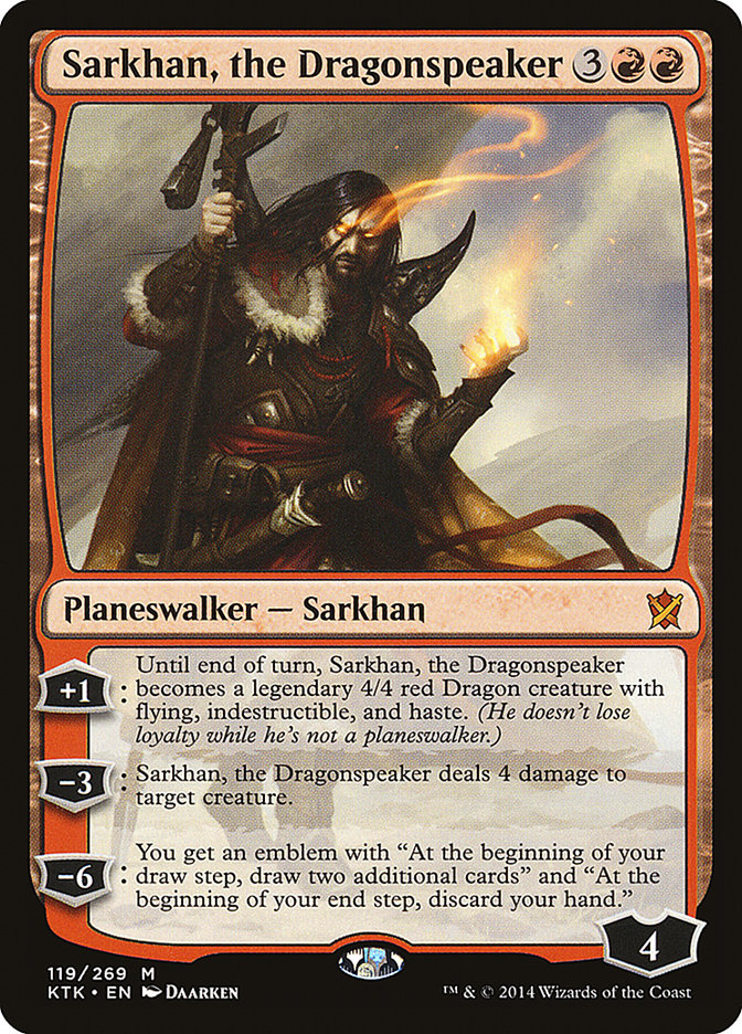 Sarkhan, the Dragonspeaker
