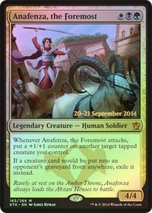 Anafenza, the Foremost (Khans of Tarkir Prerelease)