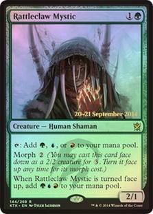 Rattleclaw Mystic (Khans of Tarkir Prerelease)