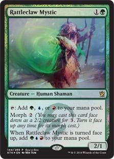 Rattleclaw Mystic (Khans of Tarkir Buy-a-Box)