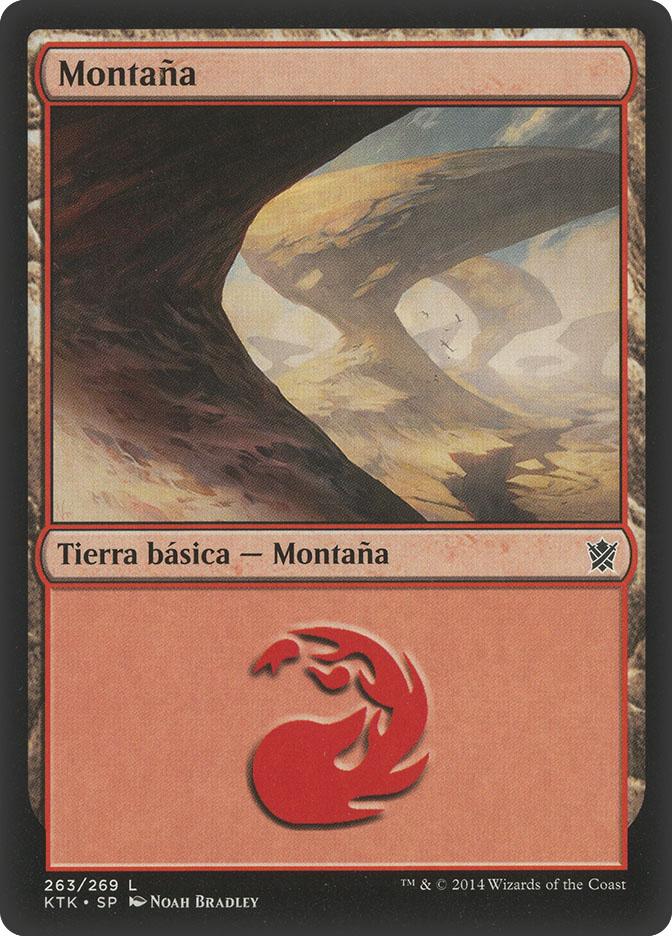 Mountain (#263) (Khans of Tarkir)