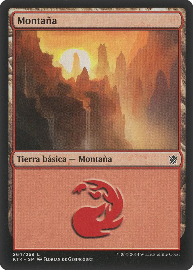 Mountain (#264) (Khans of Tarkir)