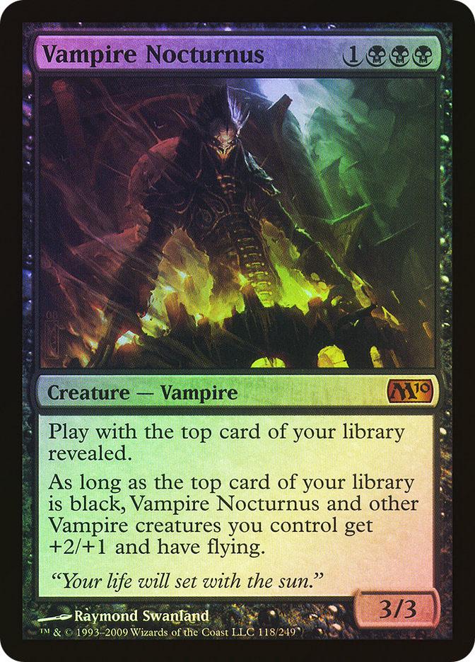 vampire nocturnus magic card
