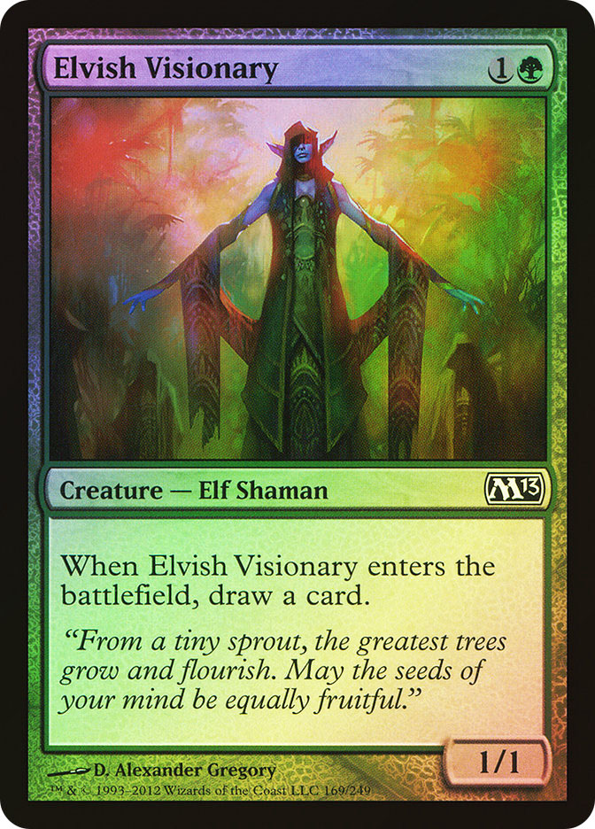 Elvish Visionary