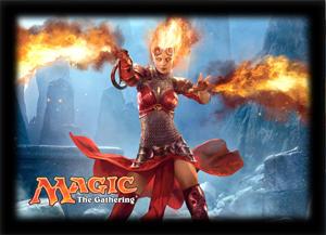 Ultra Pro Magic Sleeves - 2014 Core Set - Flames of Chandra