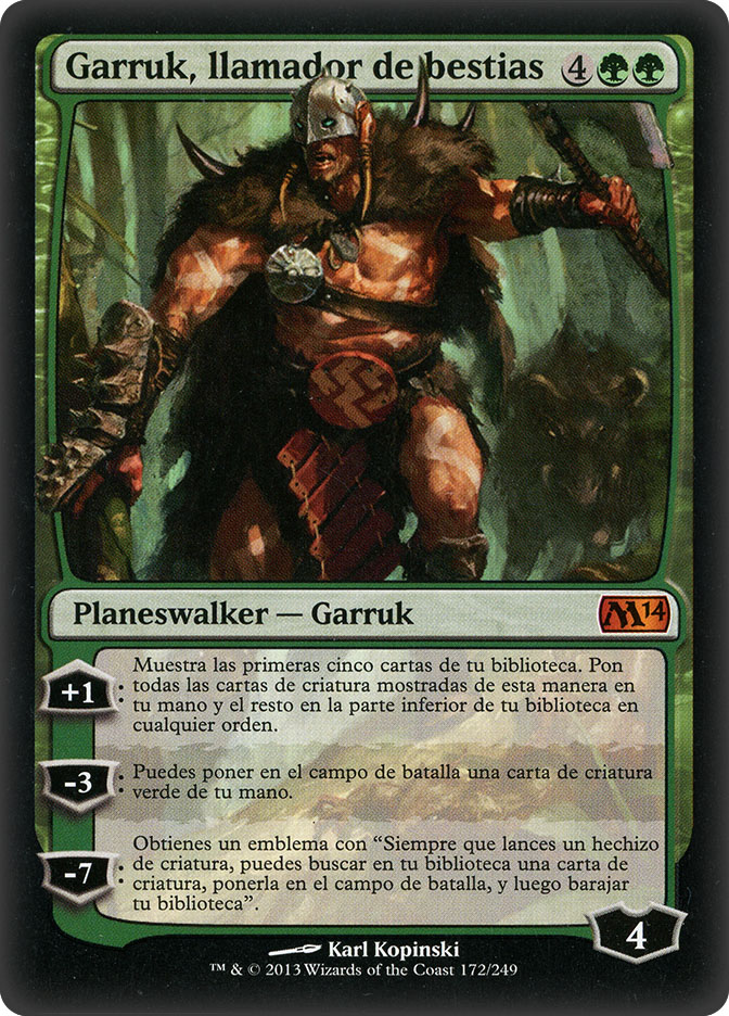 Garruk, Caller of Beasts (Magic 2014)