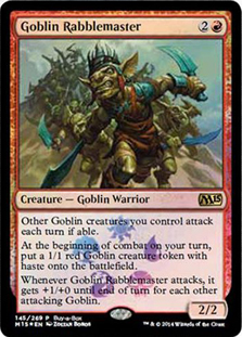 Goblin Rabblemaster (Magic 2015 Buy-a-Box)