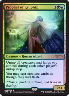 Prophet of Kruphix (Magic 2015 Clash Pack)