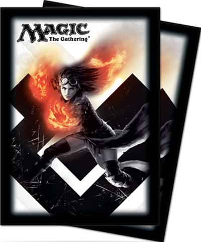 Ultra Pro Magic Sleeves - 2015 Core Set - Chandra, Pyromaster