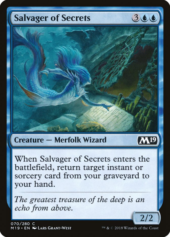 Salvager of Secrets