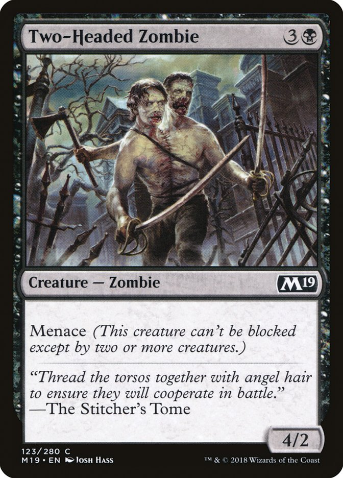 Two-Headed Zombie