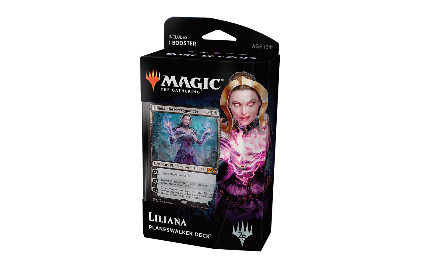 Core Set 2019 Planeswalker Deck - Liliana