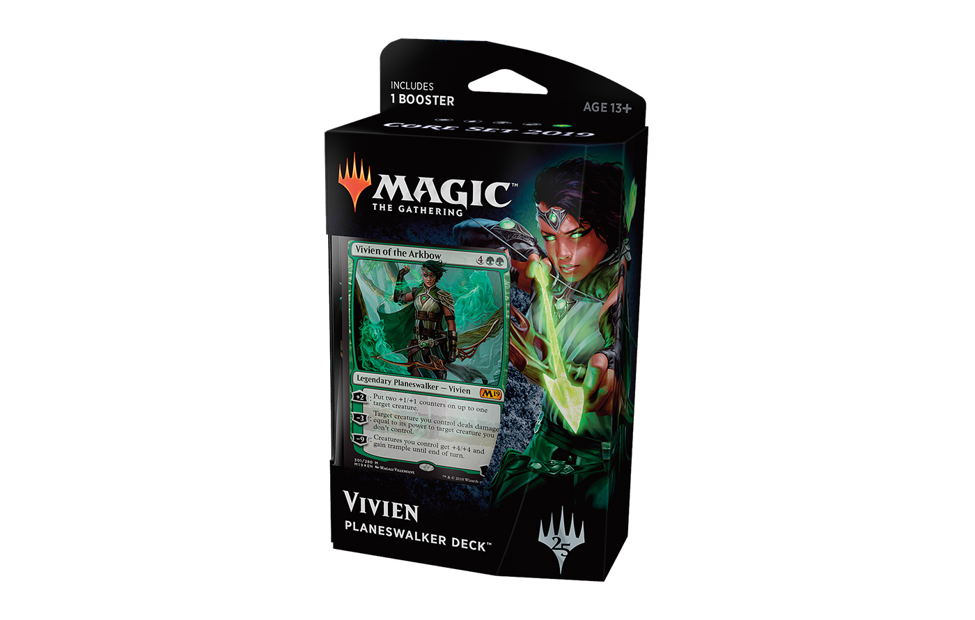 Core Set 2019 Planeswalker Deck - Vivien