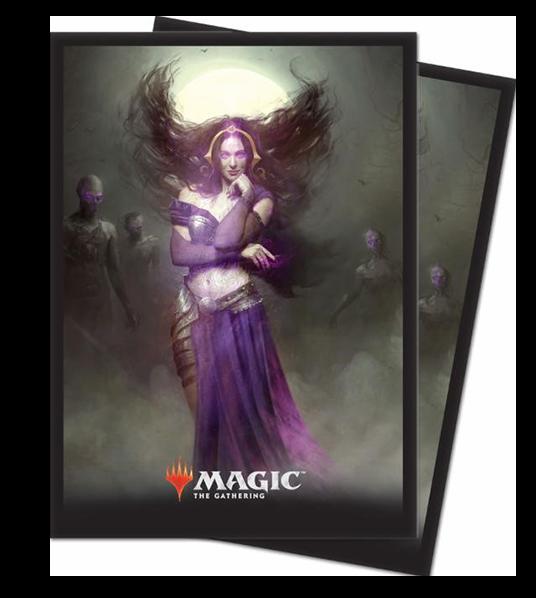 Ultra Pro Magic Matte Sleeves  - Core Set 2019 - Liliana, Untouched by Death