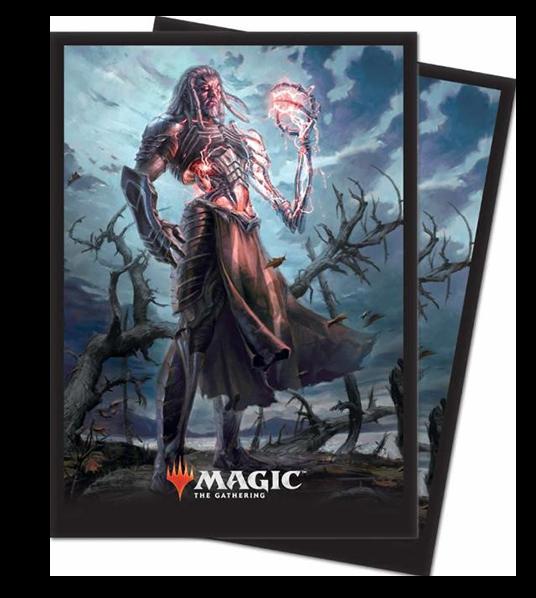 Ultra Pro Magic Matte Sleeves  - Core Set 2019 - Tezzeret, Artifice Master