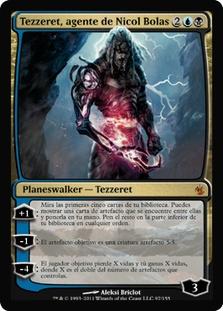 Tezzeret, Agent of Bolas (Mirrodin Besieged)