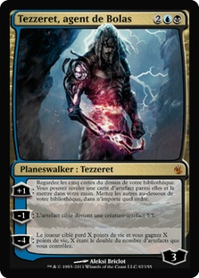 Tezzeret, Agent of Bolas (Mirrodin Besieged)