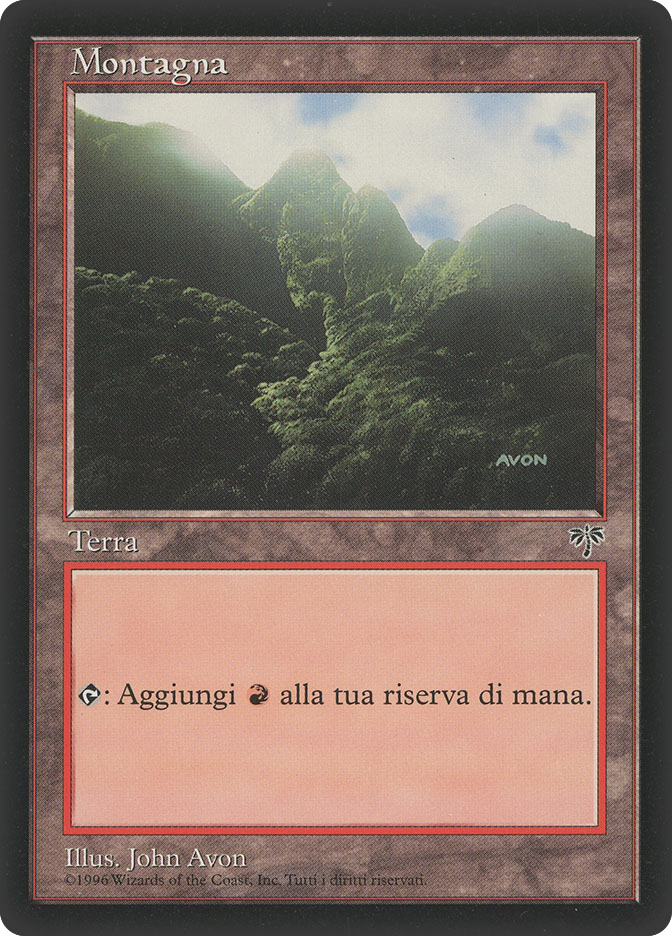 Mountain (C) (Mirage)