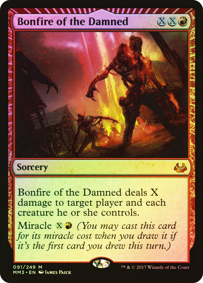 Bonfire of the Damned
