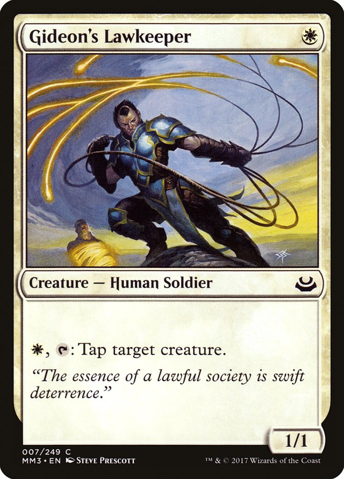 Gideon's Lawkeeper