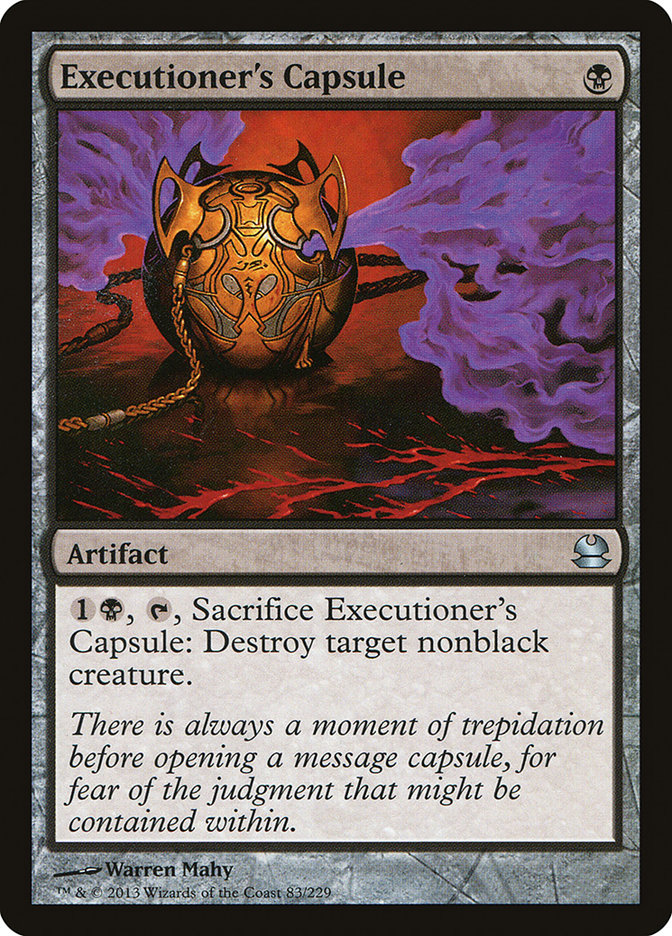 Executioner's Capsule