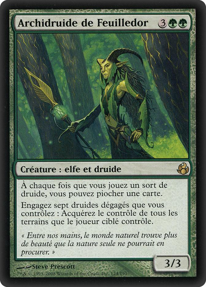 Gilt-Leaf Archdruid (Morningtide)