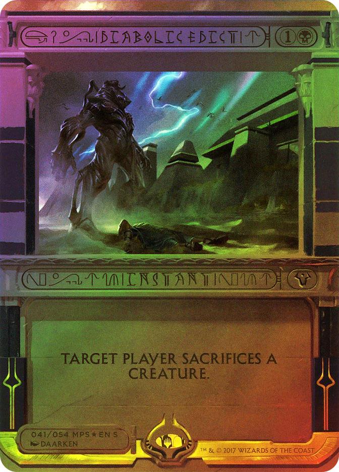 Diabolic Edict (Pre-Order: Ships Jul 14)