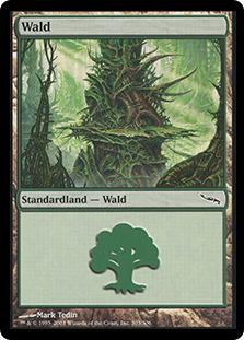 Forest (#303) (Mirrodin)