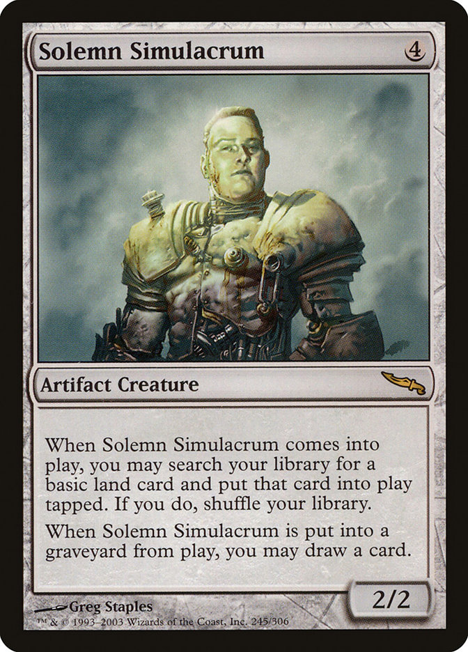 Solemn Simulacrum