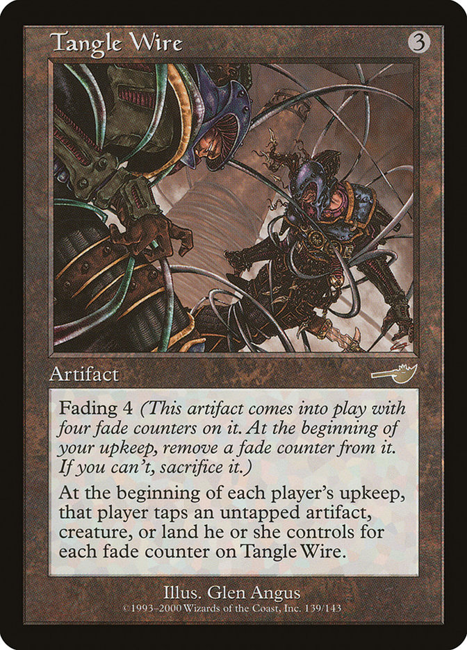 Tangle Wire Magic Card