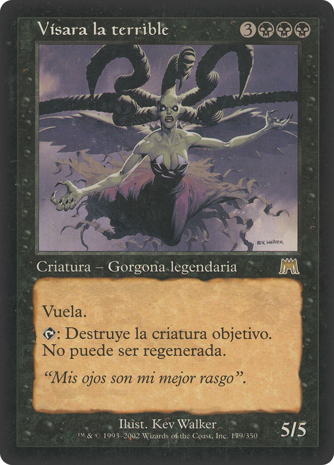Visara The Dreadful (Onslaught)