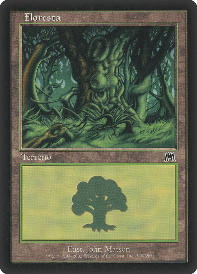 Forest (#348) (Onslaught)