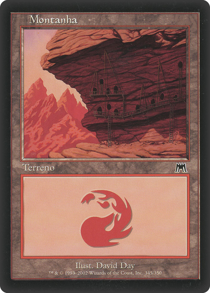 Mountain (#345) (Onslaught)