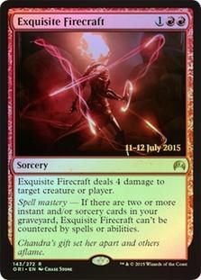Exquisite Firecraft (Magic Origins Prerelease)