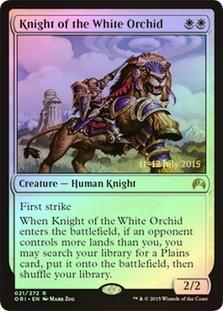 Knight of the White Orchid (Magic Origins Prerelease)