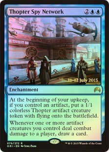 Thopter Spy Network (Magic Origins Prerelease)
