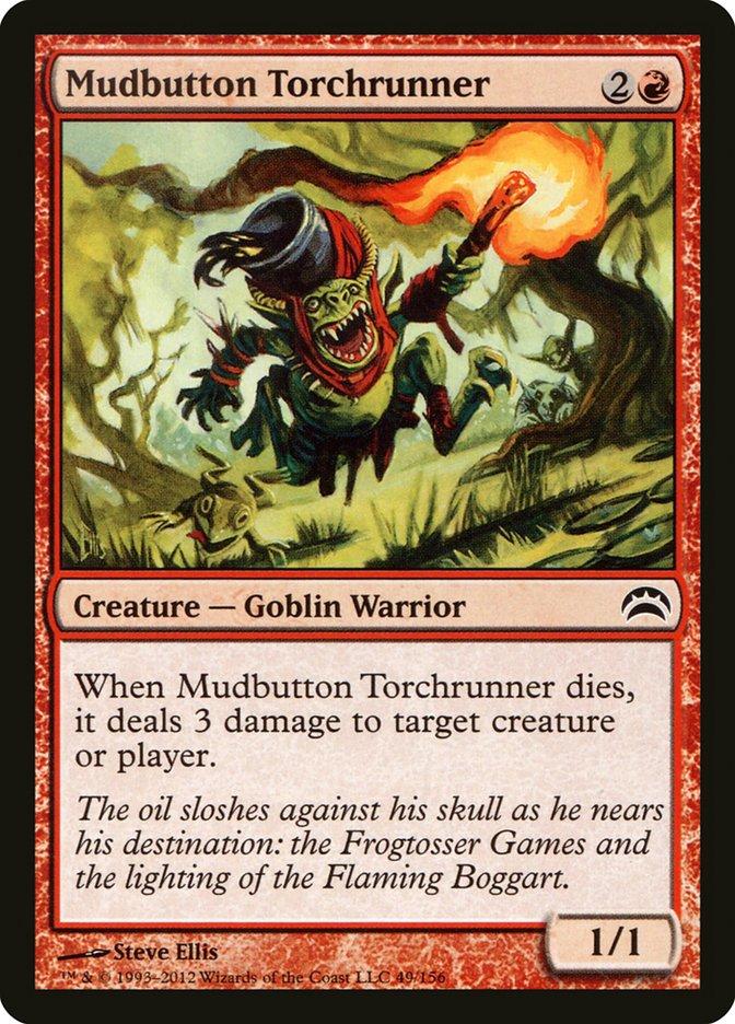 Mudbutton Torchrunner
