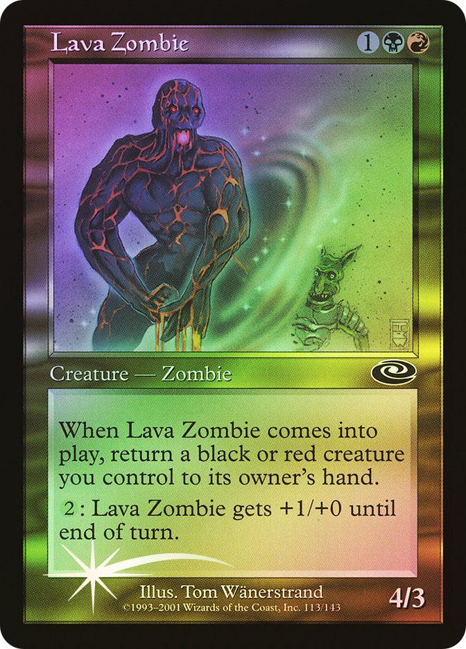 Lava Zombie