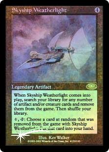 Skyship Weatherlight (Alternate Art Foil)