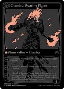 Chandra, Fire of Kaladesh | Chandra, Roaring Flame (SDCC 2015)